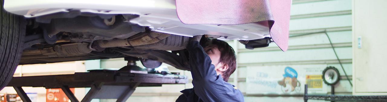 将来の幹部を目指す意欲のある方募集中!あなたのスキルをさらに伸ばせる自動車整備士